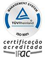 TUV certificate ISO 9001